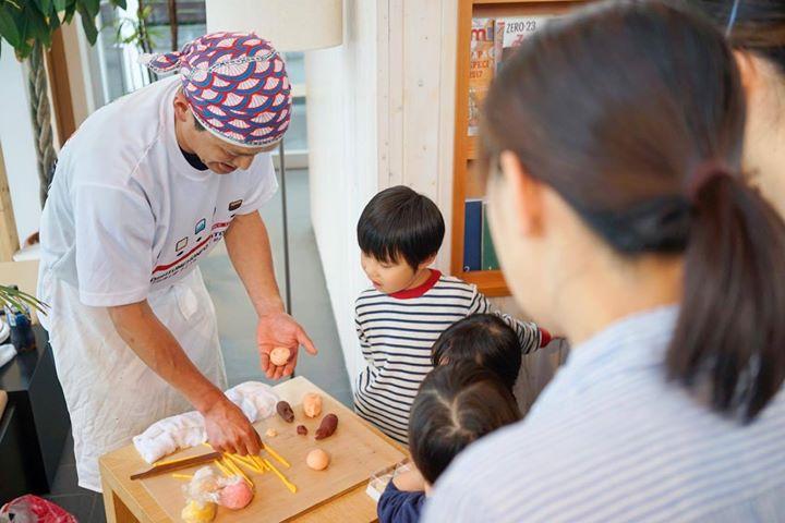 佐藤屋八代目の和菓子教室